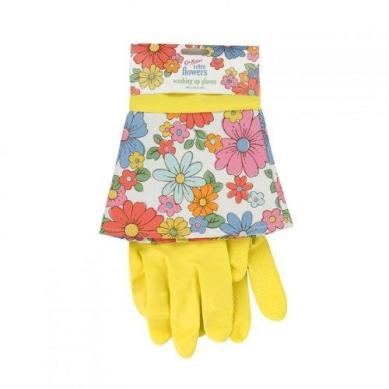 I used to always wear marigolds to do the washing up but I haven't in a long time and my dry and cracked hands are proof. These would tempt me to ditch the dishwasher. I'm not sure I'd give in to the temptation, but I'd still love to have them cheering up my kitchen.
