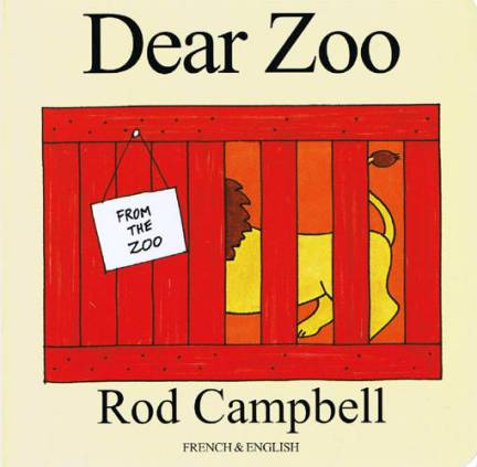Dear Zoo, another classic which I always recommend to friends with babies. The flaps in ours are mostly tattered but she still loves uncovering all the animals.