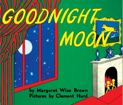 Goodnight Moon, a classic which Maia used to love too. She learned how to say 'moon', 'mouse', 'house', 'hush' and 'mush' thanks to it.