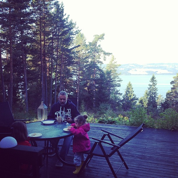 Our second (and my favourite) holiday this year was in Norway. A cabin surrounded by forest and lakes, children playing amongst the trees and the sounds of nature. It was perfect.